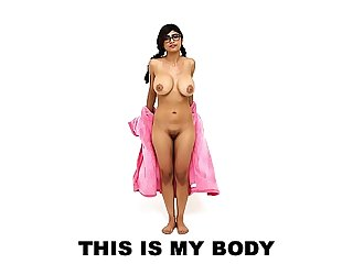 Mia Khalifa's Sexy Arab Body: A Compilation Video